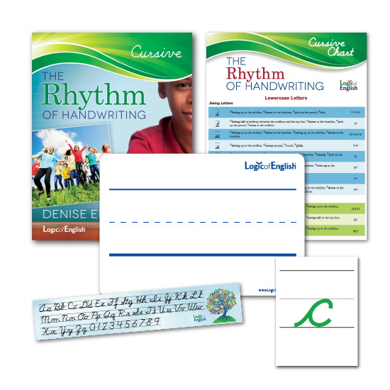 Rhythm of Handwriting cursive - complete set