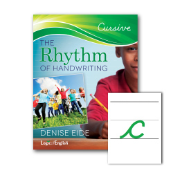Rhythm of Handwriting Cursive